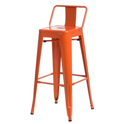 Scaun de bar PARIS ORANGE