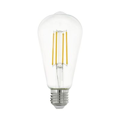 BEC LED DECORATIV GLOB TUBULAR  7W
