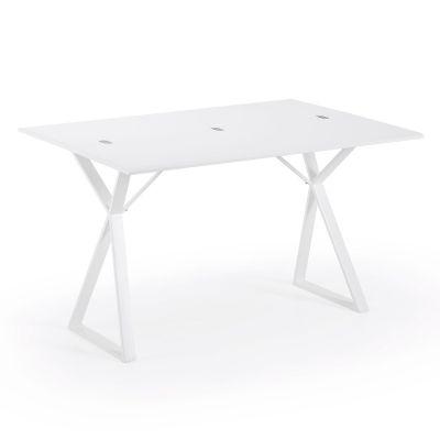 Masă extensibilă ASSA WHITE 45(90)x130cm