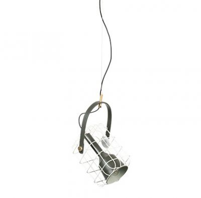 Lampă suspendată CAGE WHITE