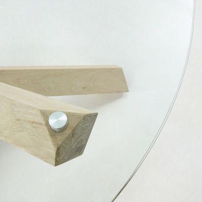 Masă DERAL GLASS Ø 120 cm