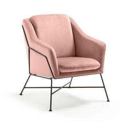 Fotoliu DANNA Velvet pink
