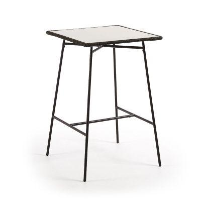 Masă de bar FRIMA GREY 70x70 cm