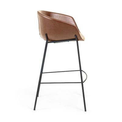 Scaun de bar DINERA BROWN H75 cm