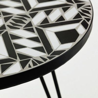 Măsuță de cafea OSVALD BLACK 46 cm