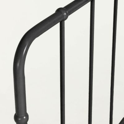 Tăblie pat OMIA BLACK 168 x 110 cm