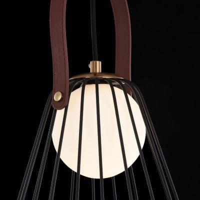 Lampă suspendată KIDO BLACK