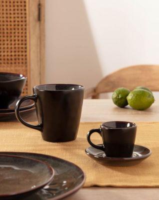 Ceaşcă şi farfurie de cafea SARAH