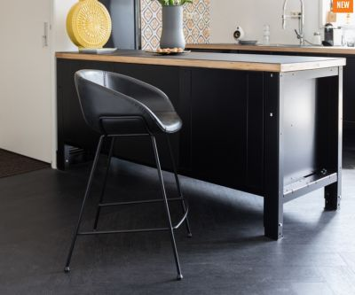 SCAUN BAR FESTON BLACK H65