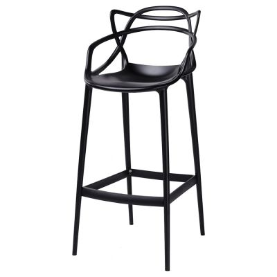 Scaun de bar HILDA BLACK