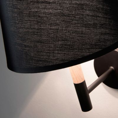 SOVOK BLACK Lampă de perete
