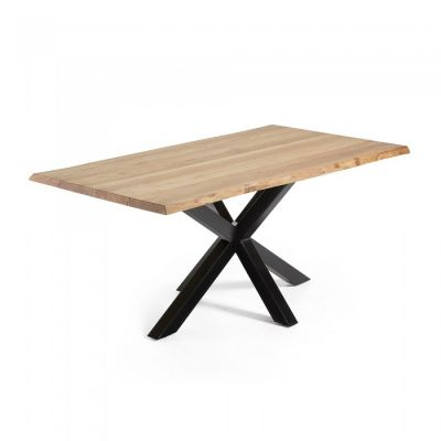 MASA ZEN VINTAGE Oak - Black 180 / 220 X 100 CM