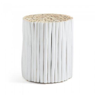MĂSUȚĂ DE CAFEA HIPPO WHITE 35 cm