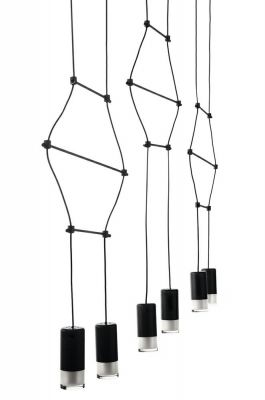 Lampă suspendată FUSS BLACK