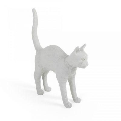 Lampă de masă JOBBY THE CAT WHITE