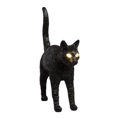 Lampă de masă JOBBY THE CAT BLACK
