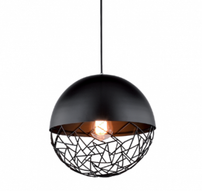 UNION BLACK Lampă suspendată