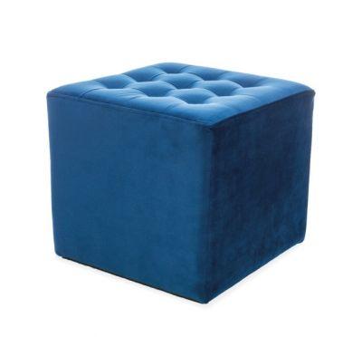 Taburet ROSSO VELVET BLUE