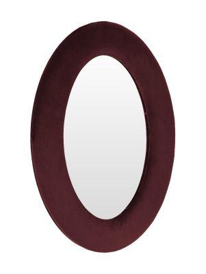 Oglindă TESI VELVET BORDO