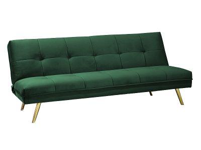 Canapea extensibilă OMIT VELVET GREEN