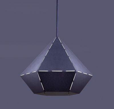 ORIGAMI BLACK Lampă Suspendată