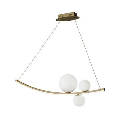 ALTALENA ORO Lampa suspendata