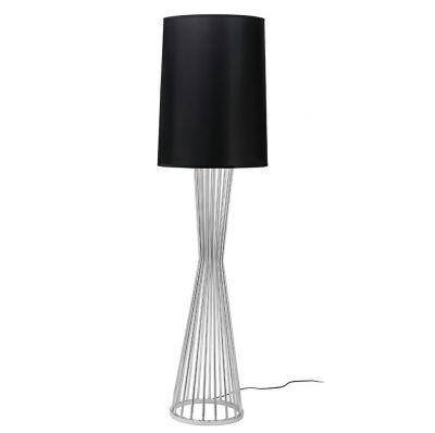 Lampă stativă OLME CROSS Silver-Black