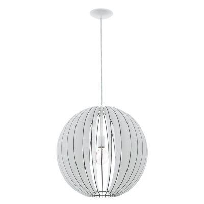 Lampă suspendată COSSANO ROUND WHITE 30 / 50 / 70 cm