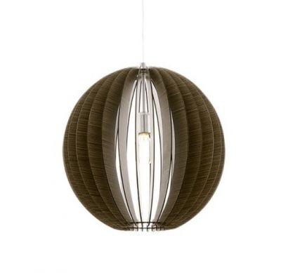 Lampă suspendată COSSANO ROUND BROWN