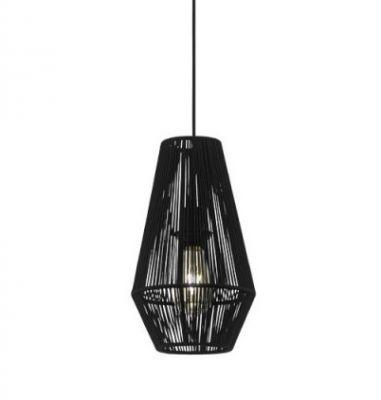 Lampă suspendată PALMONES BLACK 20 cm