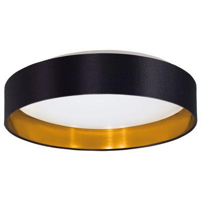 Lampă de tavan MASERLO BLACK/GOLD