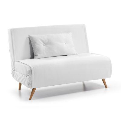 Canapea extensibilă PANA WHITE 100 cm