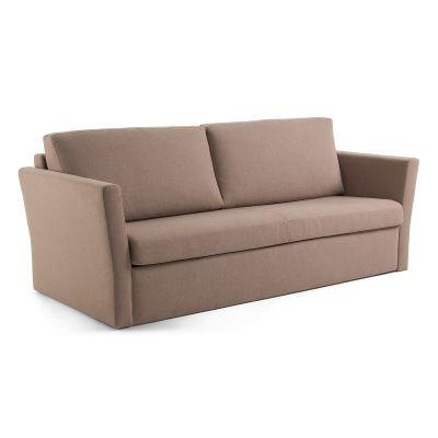 Canapea extensibilă WESTER Brown 160 cm
