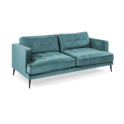 Canapea MARK VELVET Turquoise
