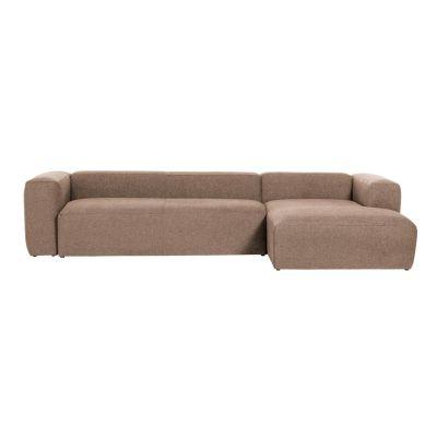Canapea cu 3 locuri BOLORE RIGHT PINK 330 cm