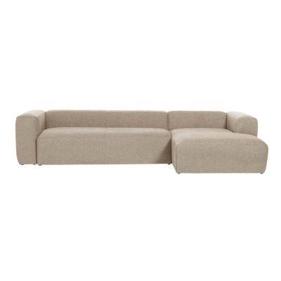 Canapea cu 3 locuri BOLORE RIGHT BEIGE 330 cm