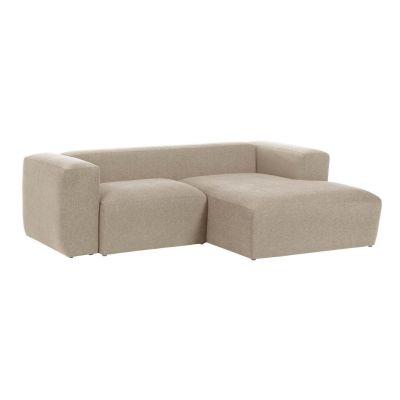 Canapea cu 2 locuri BOLORE RIGHT BEIGE 240 cm
