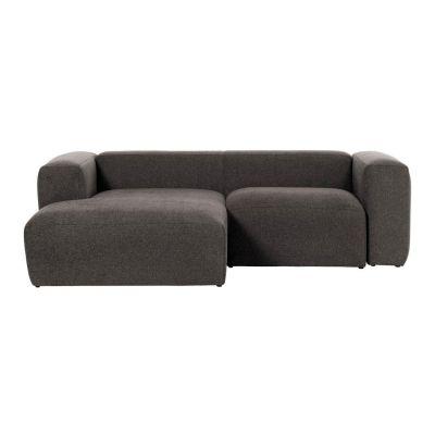 Canapea cu 2 locuri BOLORE LEFT SOFT GREY 240 cm
