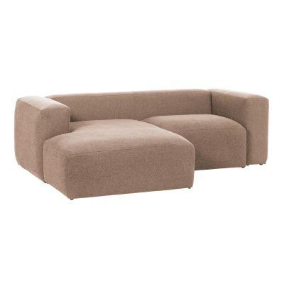 Canapea cu 2 locuri BOLORE LEFT PINK 240 cm