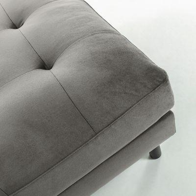 Taburet BOGARA VELVET Grey