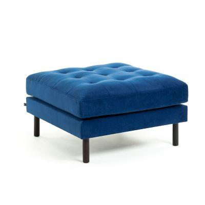 Taburet BOGARA VELVET Drak blue