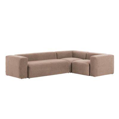Canapea 4 locuri BOLORE CORNER PINK 320 x 230 cm