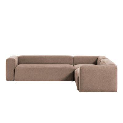 Canapea 5 locuri BOLORE CORNER PINK 320 x 290 cm