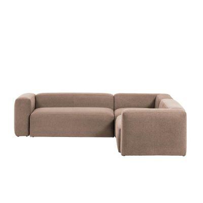 Canapea 4 sau 6 locuri BOLORE CORNER PINK 320 / 290 cm