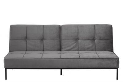 Canapea extensibilă CORONA VELVET GREY