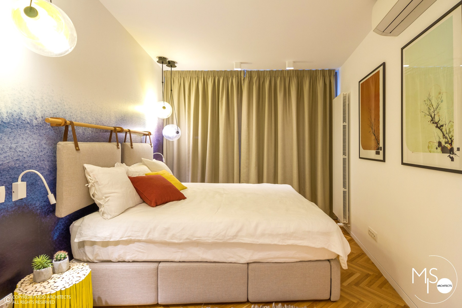 Apartament viu colorat